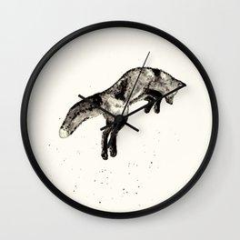 Fox Ink Wall Clock