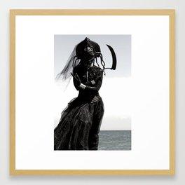 MEDUSA with Sickle Framed Art Print