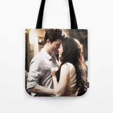 Edward and Bella from Twilight - Painting Style Tote Bag