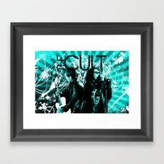 Rocker Poster Framed Art Print