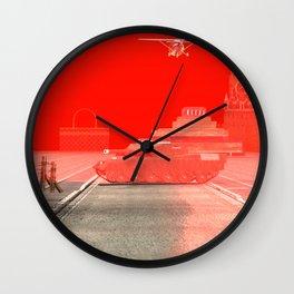Squared: Skyhawk vs Armata Wall Clock