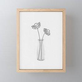 Flower Still Life II Framed Mini Art Print