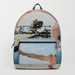 Summer Freedom Tiled Backpack