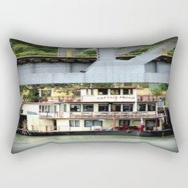 Captain Proud - Under the Bridge Rectangular Pillow