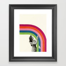 Paint a Rainbow Framed Art Print