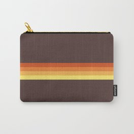 Abstract Sunrise Stripes Tecumbalam Carry-All Pouch