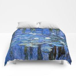waterlilies a la Monet Comforters