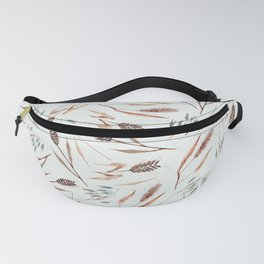 Cereal Field Pattern Fanny Pack