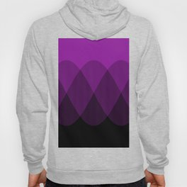 Purple to Black Ombre Signals 2 Hoody