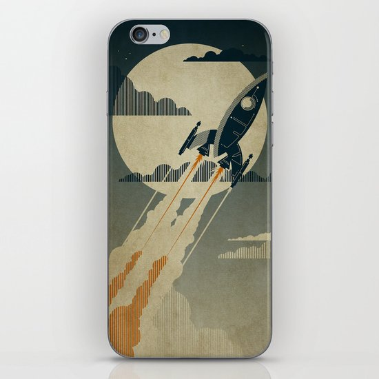 Night Launch iPhone & iPod Skin