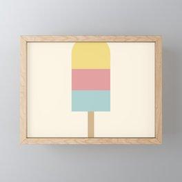Summer Popsicle Framed Mini Art Print