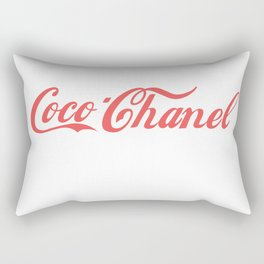 coco cola Rectangular Pillow