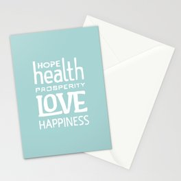 Wishing you... Stationery Cards