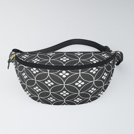 Japanese Flowers Fanny Pack