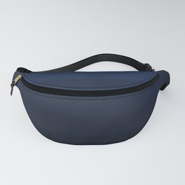 Dark blue stripes Ombre Fanny Pack