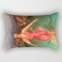 But God.  Rectangular Pillow