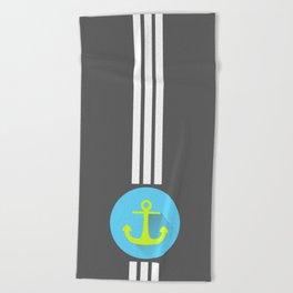 Drop The Anchor Beach Towel