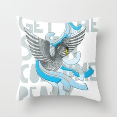 Get the Swan costume ready. Throw Pillow