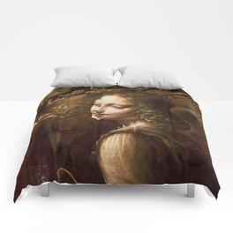 "Leonardo da Vinci ""The Virgin of the Rocks (London)"" Angel Comforters"