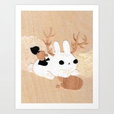 Wolpertinger Art Print