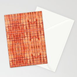 Red Chile Plaid Stationery Cards