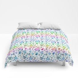 Ocean Life-Rainbow Palette Comforters
