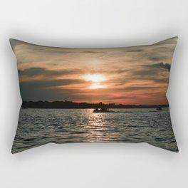 Tangerine Sky Rectangular Pillow