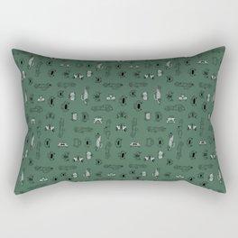 Automobiles (jungle) Rectangular Pillow