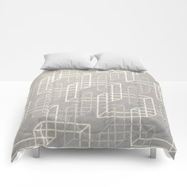 Linked Squares Comforters