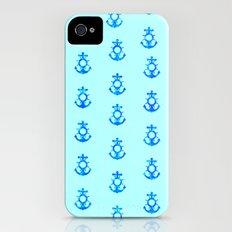 Ocean Anchors iPhone (4, 4s) Slim Case