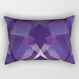 - Citylife - geometric futuristc art Rectangular Pillow