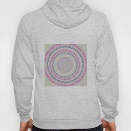 Watercolor Pastel Flowe Mandala Hoody
