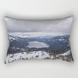 Snowy Horizon Rectangular Pillow