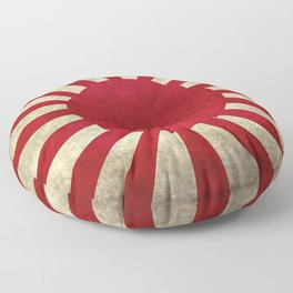 The imperial Japanese Army Ensign Flag Floor Pillow