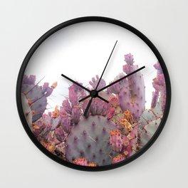 Santa Rita Cactus Wall Clock