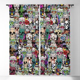 SKULL Blackout Curtain