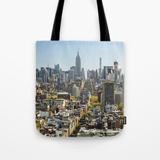 New York City from Tribeca. Tote Bag