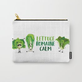 Lettuce Romaine Calm Carry-All Pouch