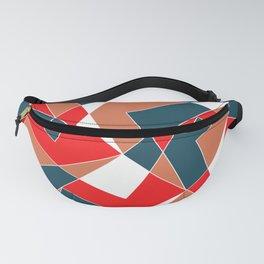 Broken Pattern (Red) Fanny Pack