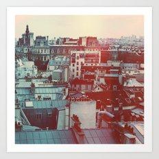 Paris Revisited Art Print