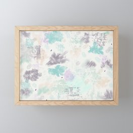 Emotional Color Bursts Framed Mini Art Print