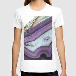 Purple Agate Slice T-shirt