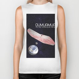 Oumuamua - the solar system's first known interstellar visitor Biker Tank