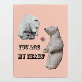 Declaration of love Poster