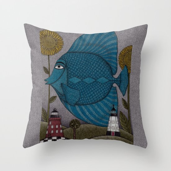 It's a Fish! Throw Pillow
