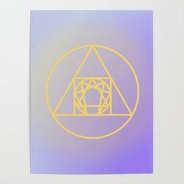Enneagram // Alchemy Poster