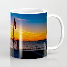 Naval Sunset  Coffee Mug