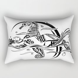 DREAMSCAPE (Tribal Markings series) Rectangular Pillow