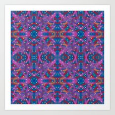 A Night To Remember Kaleidoscope Art Print