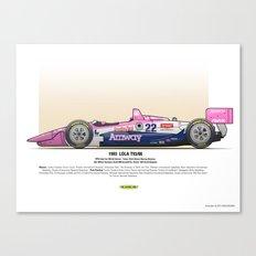 #22 LOLA - 1993 - T9300 - Brayton Canvas Print